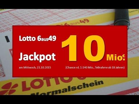 Lotto Jackpot Ziehung