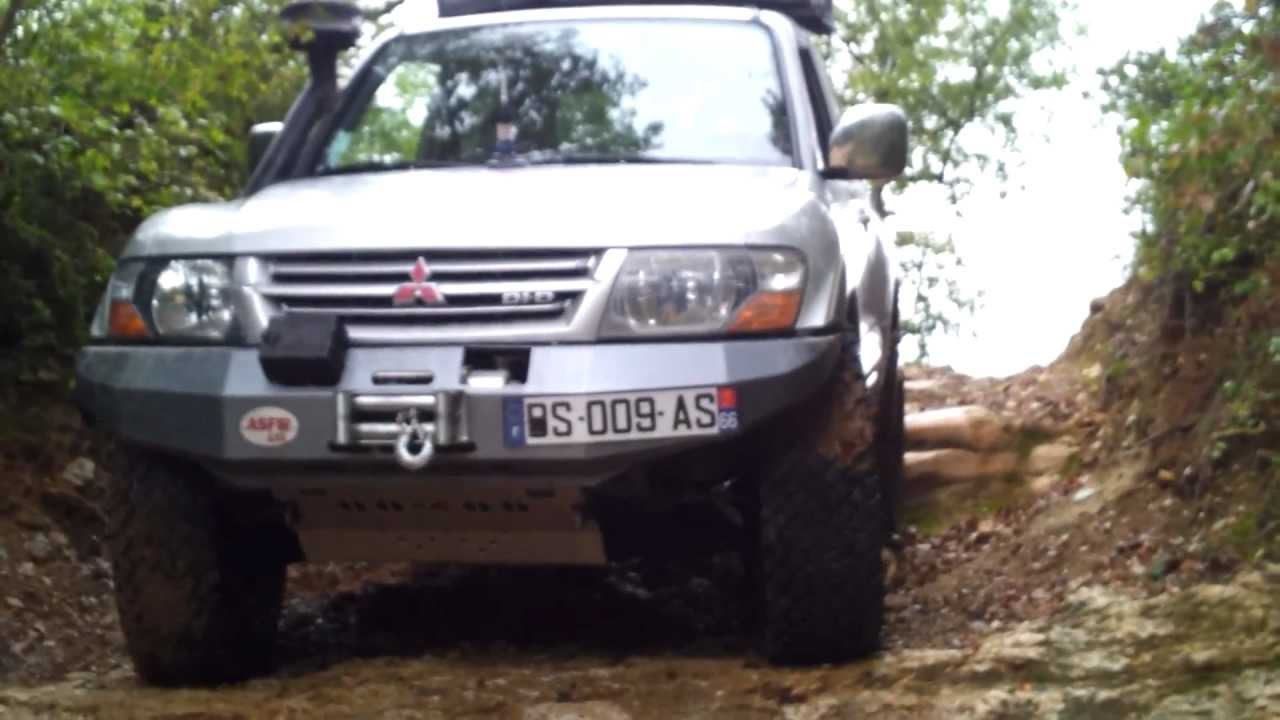 pajero did bodylift 5cm 3157516 youtube