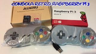 Cómo crear una consola retro con Raspberry Pi 3 y Recalbox - Tutorial paso a paso