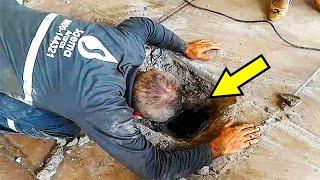 Из-под земли доносился чей-то плач. Люди вскрыли бетонный пол и нашли то, что не ожидал никто