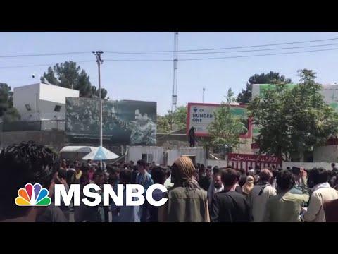 Biden Says Afghanistan Evacuation Deadline May Go Past August 31