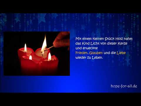 Die 4 Kerzen -Weihnachtsgeschichte