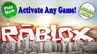How to Make any Roblox Game Active (How to Activate a Game on Roblox) 2017