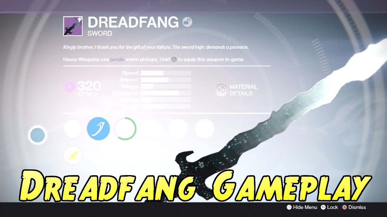 destiny how to get dreadfang
