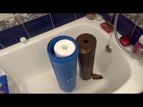Зачем магистральный фильтр для механической очистки воды? (два варианта)