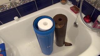 Магистральный фильтр для механической очистки воды (два варианта)(Через этот магистральный фильтр проходит вся вода в квартире. Фильтр очищает от механических примесей...., 2016-07-12T04:59:45.000Z)