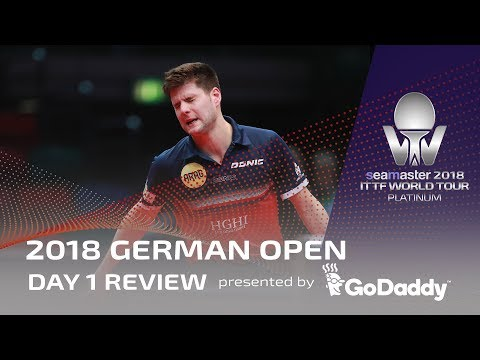 2018 ITTF German Open | Day 1 Review presented by GoDaddy