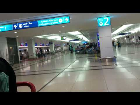 A1 terminal check in counter, Dubai International airport 20