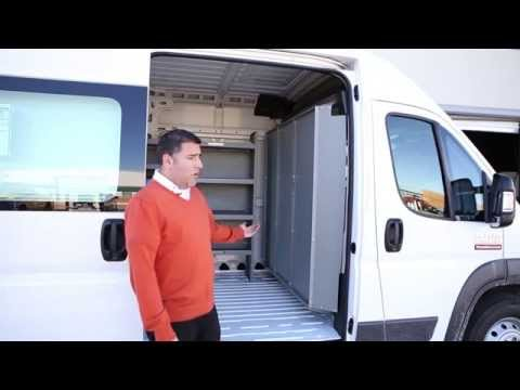 Dodge ProMaster Shelving storage system and Partition bulk head