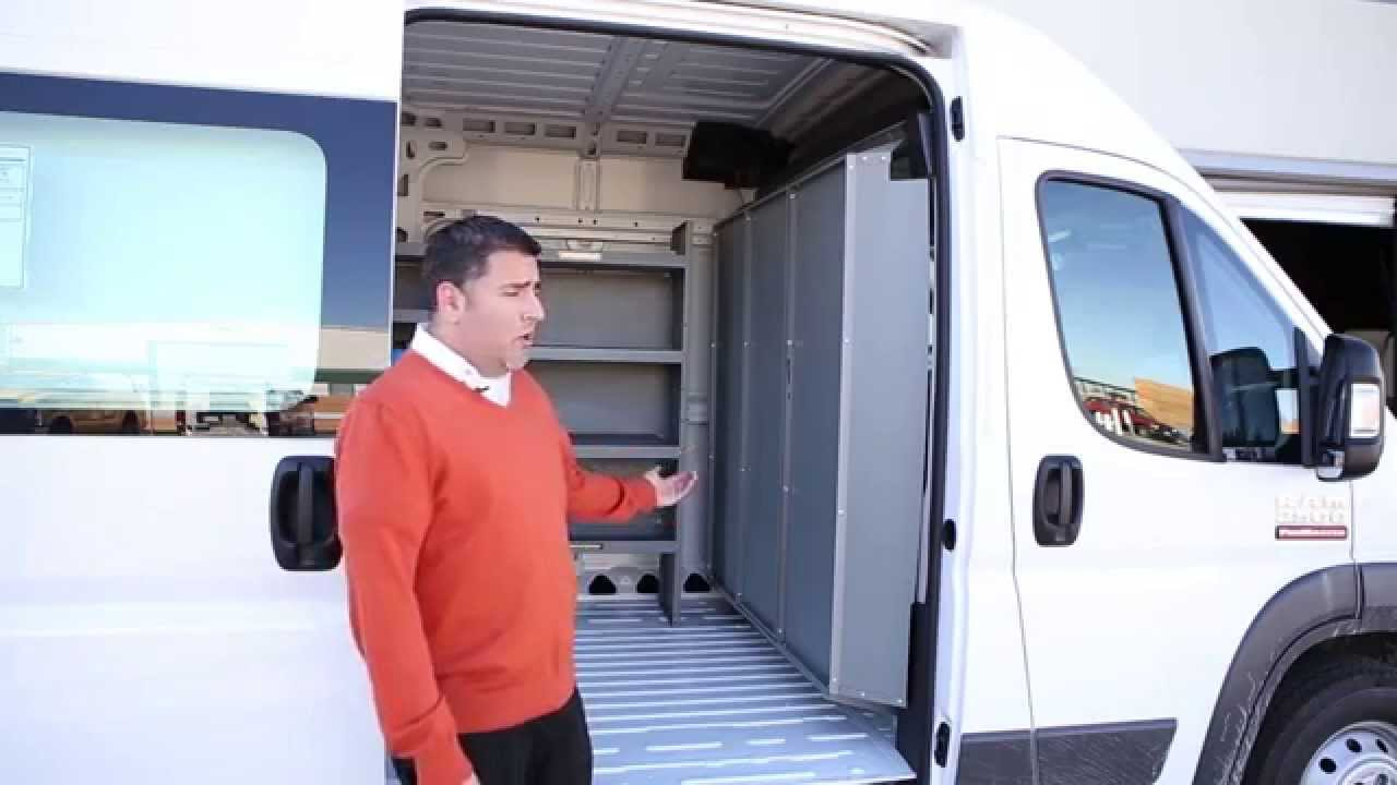 Dodge Promaster Shelving Storage System And Partition Bulk