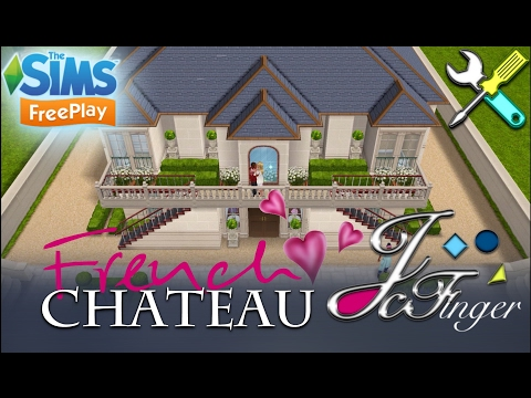 The Sims FreePlay 🌹🇫🇷| FRENCH CHATEAU • REMODEL | 🇫🇷🌹 By Joy.