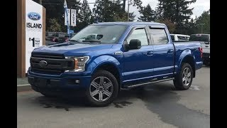 2018 Ford F-150 XLT Sport V8 SuperCrew Review| Island Ford