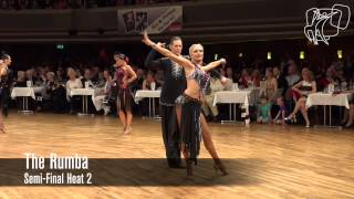 Semi-Final Rumba | 2015 PD World 10D | DanceSport Total