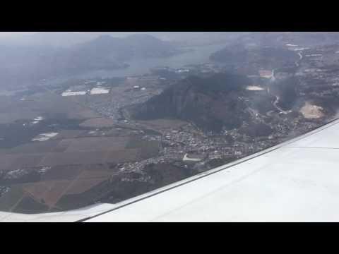 Approaching Guatemala City airport