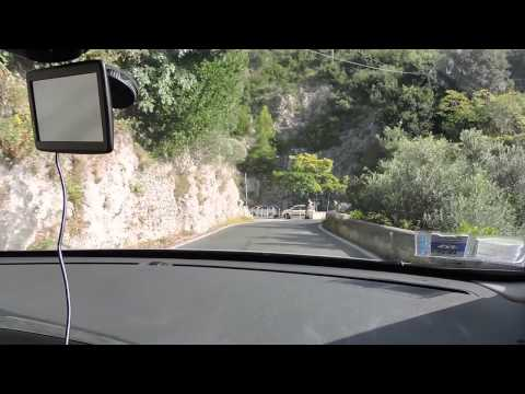Driving the twisting roads of the Amalfi Coast. See what it's really like.