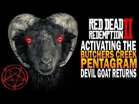 Activating The Butchers Creek Pentagram! Red Dead Redemption 2 Secret Easter Eggs [RDR2]