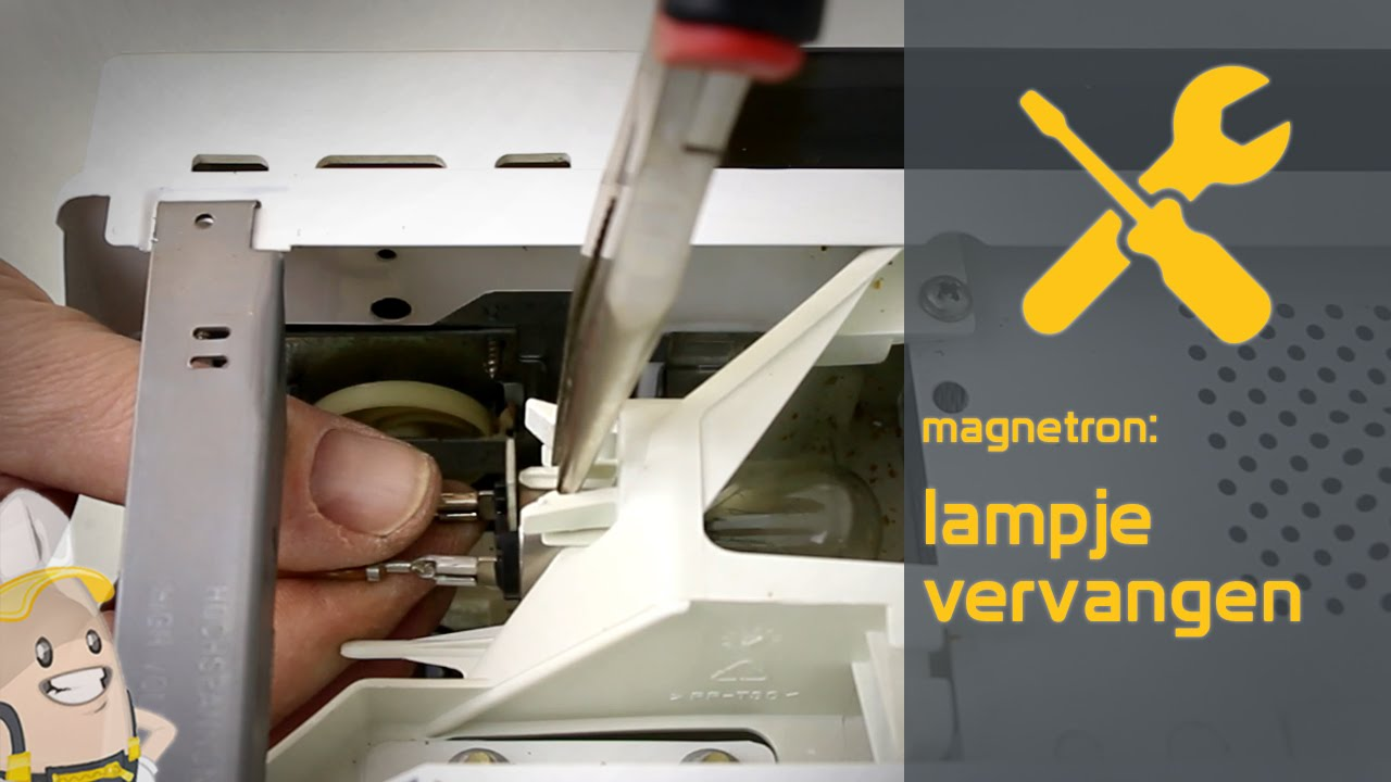 Lampje Van Uw Magnetron Vervangen De Onderdelenwinkel Nl