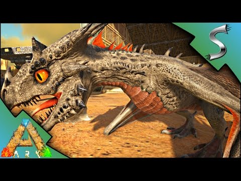 Fire Wyvern Raising + Imprinting! Alpha Deathworm Kill! | Ark: Scorched  Earth [