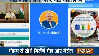 Narendra Modi App: Now Receive Direct Messages And Emails From PM | India TV
