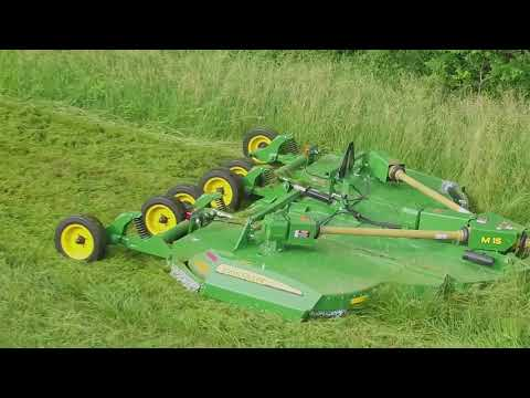 John Deere's New Flex Wing Rotary Cutters For Sale At Everglades Equipment