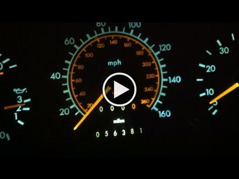 LED gauge lights..How to convert Mercedes R129 SL ,w124 dash gauge lighting to LED