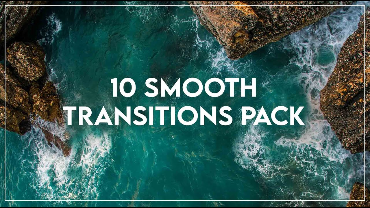 10 Free Smooth Transition Pack | Works On Premier Pro & Final Cut Pro | How To Apply Transitions