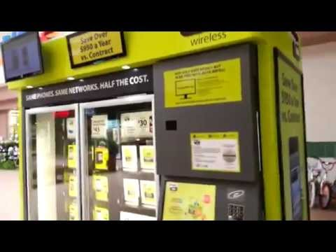 Straight Talk Cell Phone Vending Machine - YouTube
