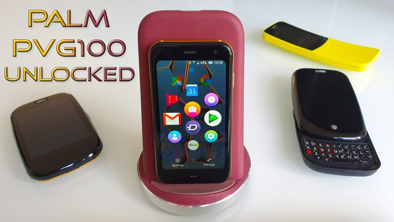 Unlocked Palm PVG100 Review: FacePalm