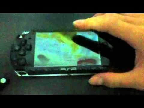 Psp turns on but screen remains black