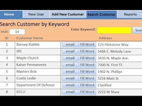 How to send Email from Access via Outlook : MS Access 2010, 2007