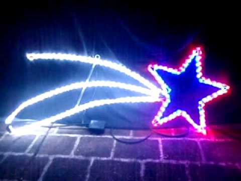 led shooting star christmas light sold by christmas alight