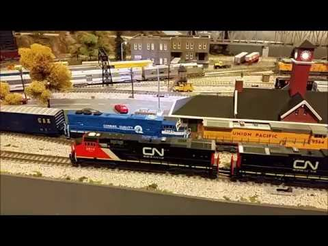 Easy way to dust model train layouts & eSPee track cleaner