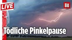 🔴 CDU-Politiker wird bei Grillparty von Blitz erschlagen | BILD Live