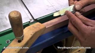 Table Saw Self Adhesive Measuring Tape Install