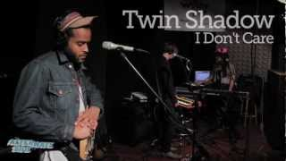 """Twin Shadow - """"I Don't Care"""" (Live at WFUV)"""