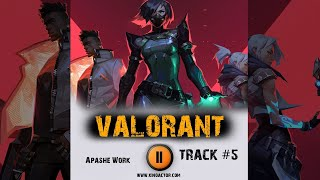 VALORANT 🎮  game tactical shooter ➤ music from the trailer ➤ 2020 OST 5 Apashe Work