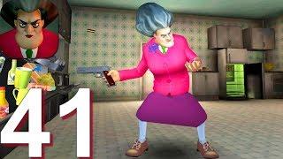 Scary Teacher 3D   Gameplay Walkthrough Part 41 Rat Attack Prank Android IOS Game