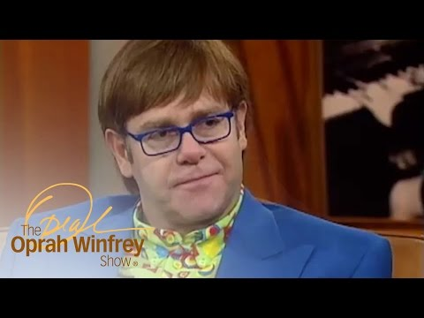 Elton John: The 3 Words That Could Save Your Life | The Oprah Winfrey Show | Oprah Winfrey Network