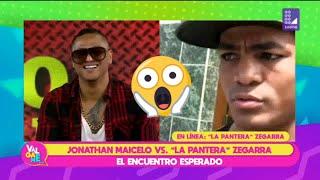 Jonathan Maicelo y 'Pantera' Zegarra se enfrentaron en �...
