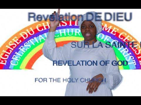 REVELATION OF GOD FOR THE CELESTIAL CHURCH OF CHRIST