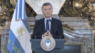Conferencia de prensa del presidente Mauricio Macri