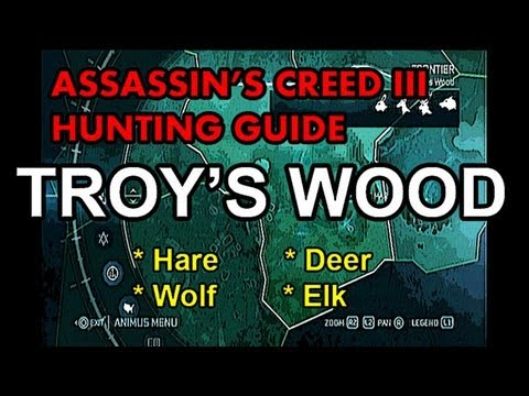 in's Creed 3 Hunting Guide - Part 6 -