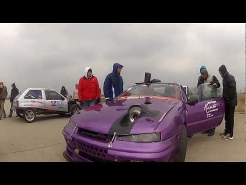 Opel Calibra turbo - Drag racing.Hu - video