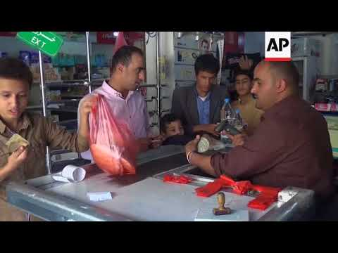 Houthi-held Sanaa sees food scarcity and price rises