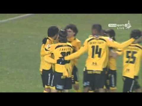 Aris - Kavala 1-0 (Ruiz Goal)