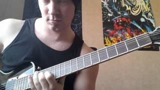 Europe - Prisoners in paradise (guitar-cover)