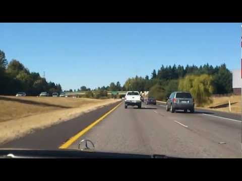 Drunk Driver on the Freeway, I-205 North