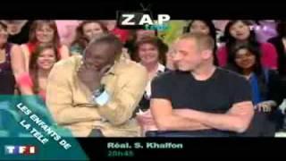 Omar et Fred fou rire TF1 Les enfants de la télé