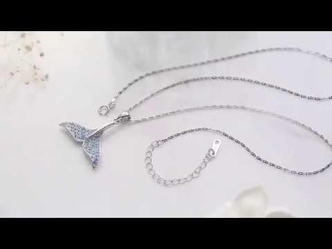 LIMITED EDITION  Swarosvki Mermaid Crystal Necklace