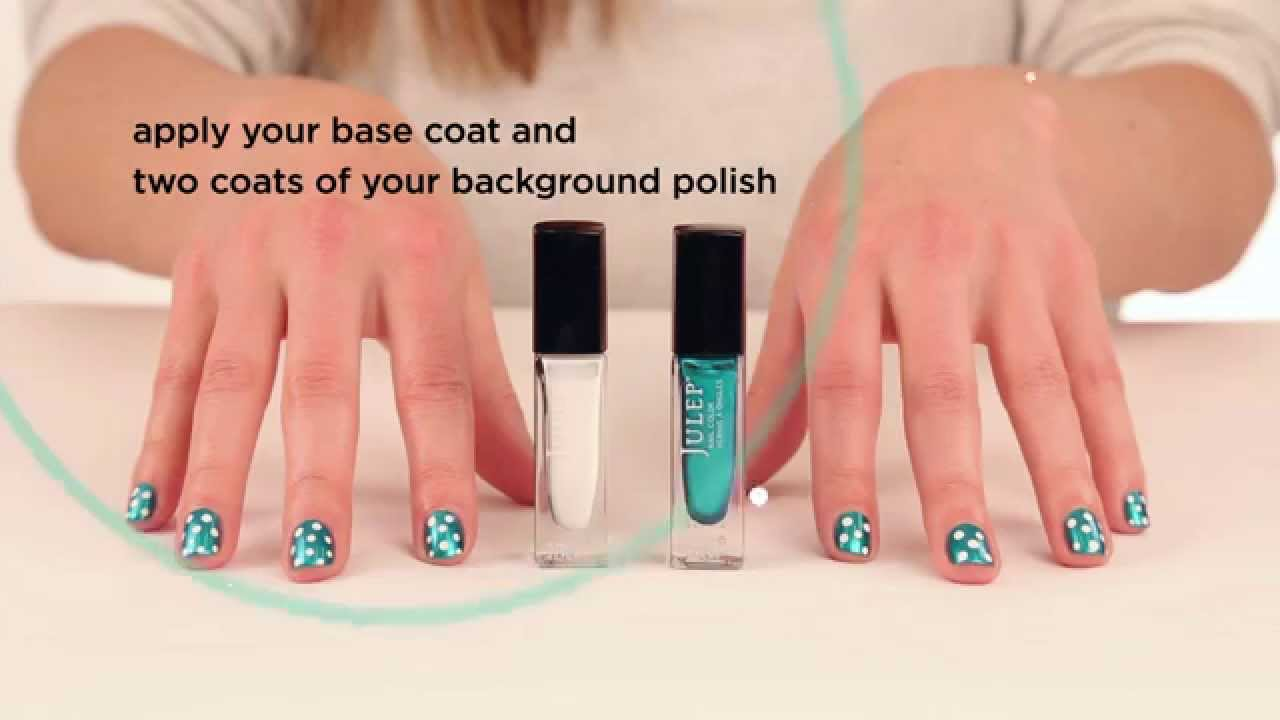 How to Do a Polka Dot Nail Look with the Plie Wand by Julep ...